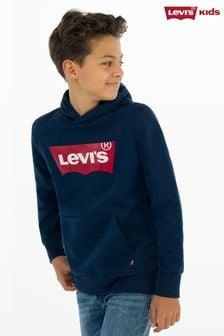 Levi's® Kids Navy Batwing Hoody