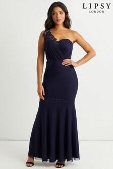 Платье макси с кружевной отделкой Lipsy Vip