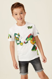 T-Shirt mit Ninja Turtles-Motiv (3-16yrs)