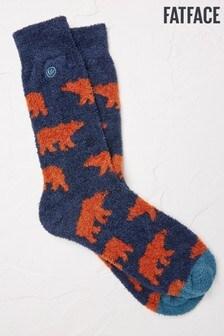 FatFace Blue Bear Mallory Socks