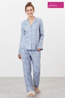 Joules Blue Sunrise Long Sleeve Pyjama Set