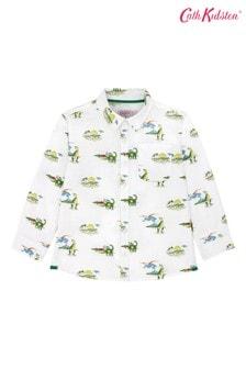 Cath Kidston® White Spaced Dino Oversized Shirt