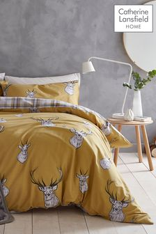 Catherine Lansfield Stag Duvet Cover And Pillowcase Set (553992) | $21 - $41