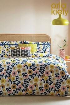 Orla Kiely Blue Kimono Duvet Cover