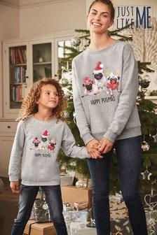 Otroški pulover Matching Family (3–16 let)
