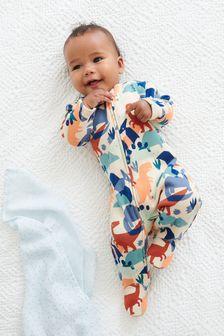 Fleece Lined Sleepsuit (0mths-3yrs)