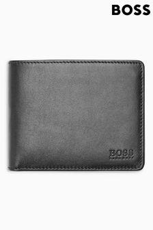 Черный складной бумажник BOSS