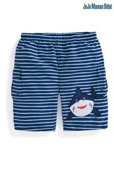 JoJo Maman Bébé Stripe No Nappy Swim Bermuda Shorts
