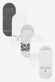 5 пар носков-подследников