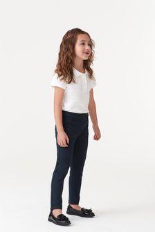 Облегающие трикотажные брюки (3-16 лет)