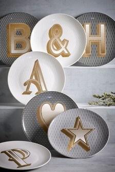 Alphabet Side Plate