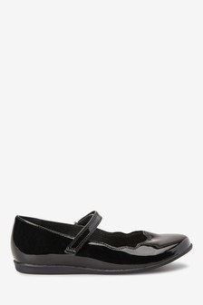 Scallop Mary Jane Shoes (Older)