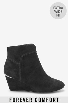Forever Comfort® Wedge Ankle Boots