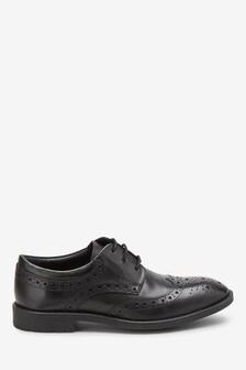 حذاء جلد (الأطفال الكبار)