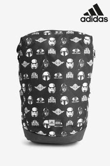 תיק גב שחור לילדים בדוגמת מלחמת הכוכבים™ של adidas