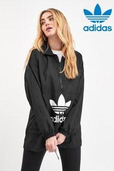 adidas Originals Black Trefoil Widbreaker Jacket