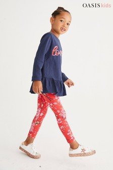 Oasis Printed Leggings