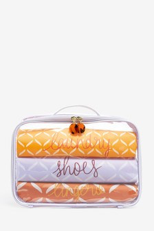 Set of 3 Travel Cosmetic Bags
