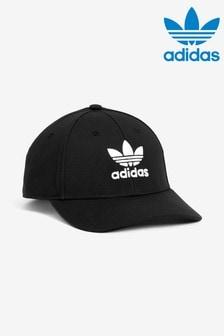 כובע מצחייה שחור קלאסי של adidas originals