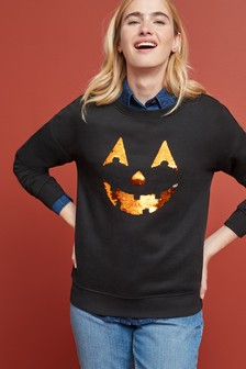 Джемпер с рисунком на тему Хэллоуина