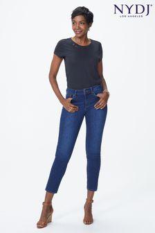 NYDJ Mid Blue Denim Alina Ankle Jean