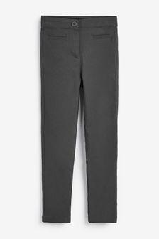 Эластичные зауженные брюки (3-16 лет)