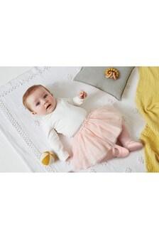 فستان بالرينا بكرانيش (أقل من شهر - 3 سنوات)