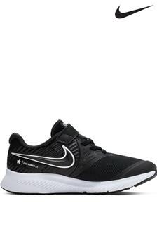 נעלי ספורט מדגם    Star Runner לילדים בצבע שחור/לבן של Nike
