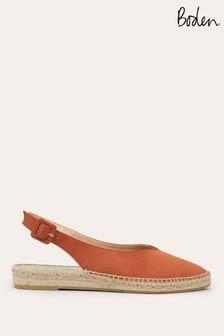 Boden Copper Slingback Espadrille Sandals