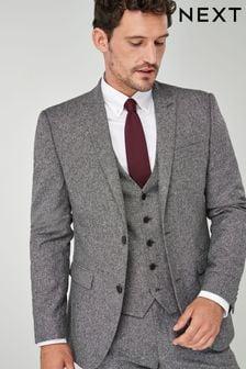 Nova Fides Wool Blend Donegal Suit: Jacket (565623) | $137