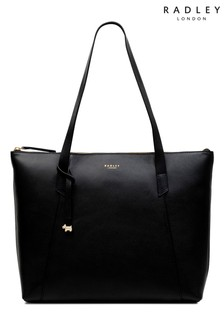 Radley London黑色托特包