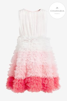 Charabia Pink Ombre Tutu Dress