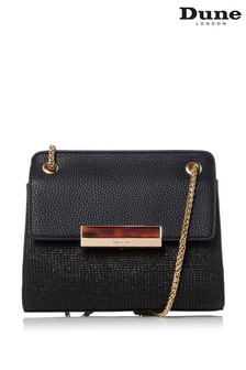 Dune London Black Delveena Small Shoulder Bag