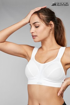 Shock Absorber White Active D+ Classic Support Non Wired Sports Bra
