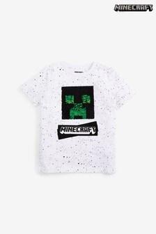 Flippy License T-shirt met lovertjes (3-16 jr)