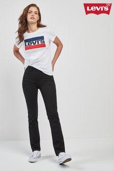 Levi's® 724™ rechte jeans met hoge taille