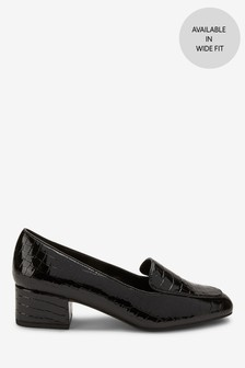 Low Block Loafers