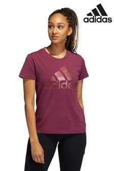 adidas Holiday BOS T-Shirt, Metallic