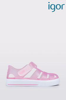 Розовые сандалииIgor