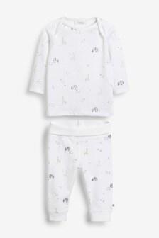 Set de tricou și colanți cu personaj (0 luni - 2 ani)