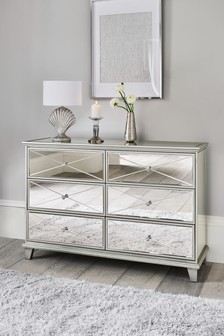 Florence 6 Drawer Wide Chest
