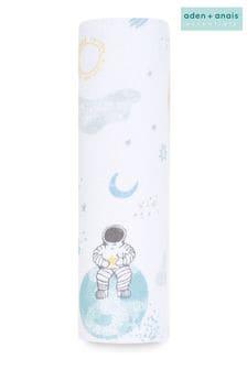 Пеленальное одеяло из хлопкового муслина aden + anais™ Essentials Space Explorers