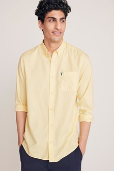 Roll Sleeve Lightweight Twill Shirt