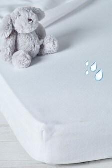 White Waterproof Mattress Protector