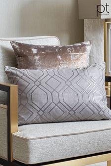 Prestigious Textiles Graphite Othello Feather Cushion