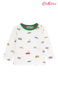 Cath Kidston® Baby Spaced Garage Station T-Shirt