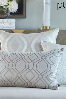 Prestigious Textiles Pewter Othello Feather Cushion