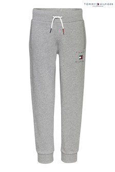 Tommy Hilfiger Grey Flag Logo Sweatpants