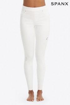 SPANX® Skinny-Jeans im zerschlissenen Look