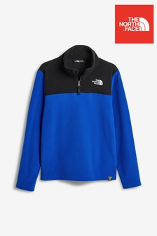 The North Face® - Youth Glacier - Pile con zip corta